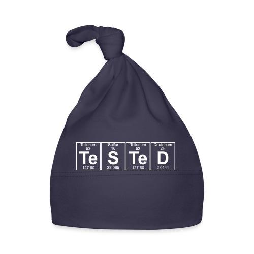 Te-S-Te-D (tested) (small) - Baby Cap