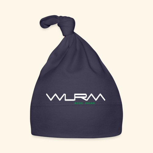 WLRM Schriftzug white png - Baby Mütze