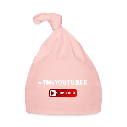 I'm a Youtuber : Subscribe - Cappellino neonato
