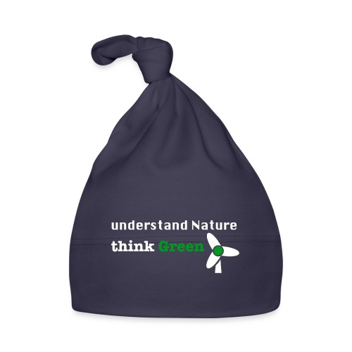 Understand Nature! And think Green. - Baby Cap