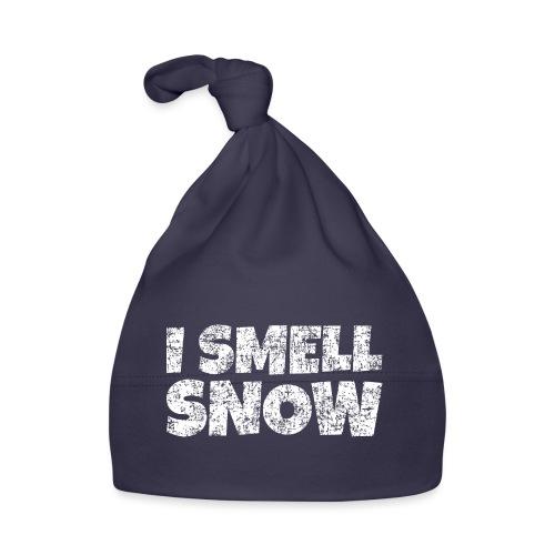 I Smell Snow Schnee, Weihnachten & Wintersport - Baby Mütze