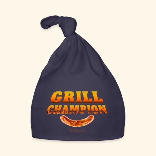Grill Champion lustiger Grillen Spruch und Wurst - Baby Mütze