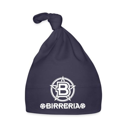 Logo Birreria 2021 white - Baby Mütze