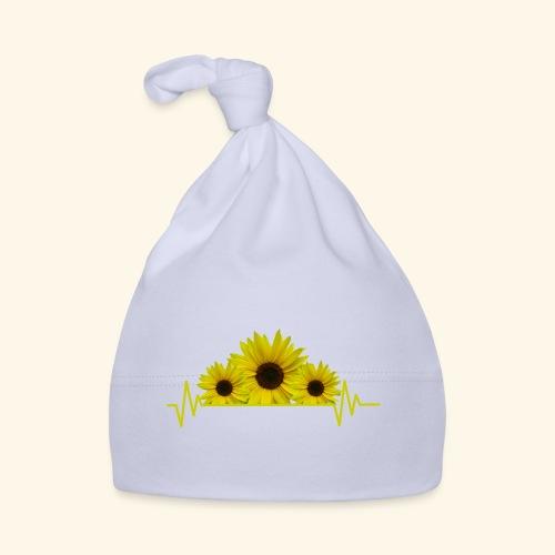Sonnenblumen Herzschlag Sonnenblume Blumen Blüten - Baby Mütze