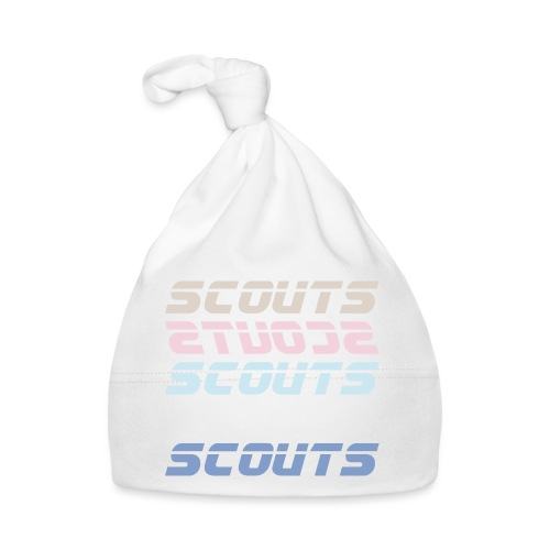 SCOUTS Retro Typo Pastell Mix - Baby Mütze