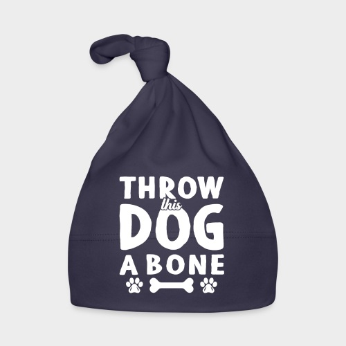 THROW THIS DOG A BONE - Baby Mütze