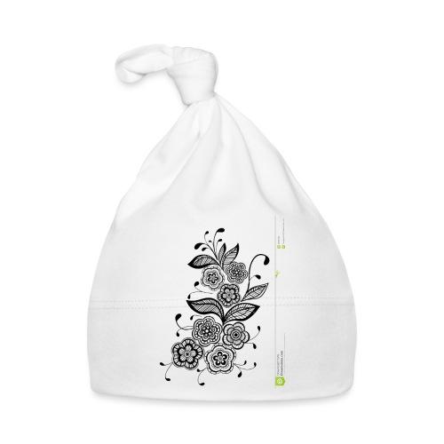 diseño de flores - Gorro bebé