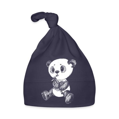 Panda Bär weiß scribblesirii - Baby Mütze