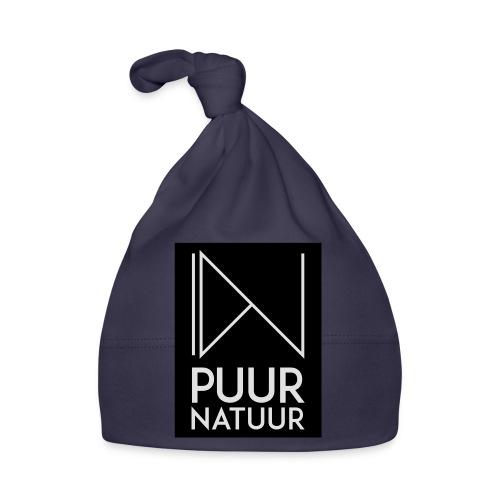 Logo puur natuur negatief - Muts voor baby's