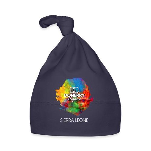 Sierra Leone Colourful Map Dark - Baby Cap