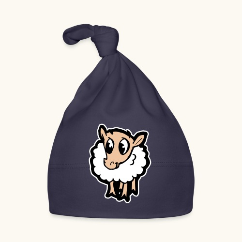 Süßes lustiges Comic Schaf Geschenkidee Cartoon - Bonnet Bébé