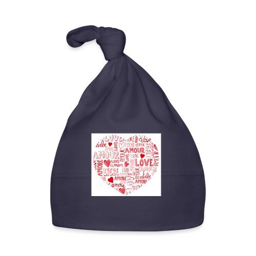 T-shirt texte amour - Bonnet Bébé