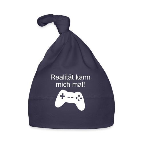 Zocker Gamer Realität Gaming Spruch - Baby Mütze