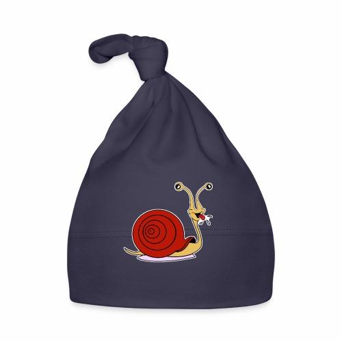 Escargot rigolo red version - Bonnet Bébé