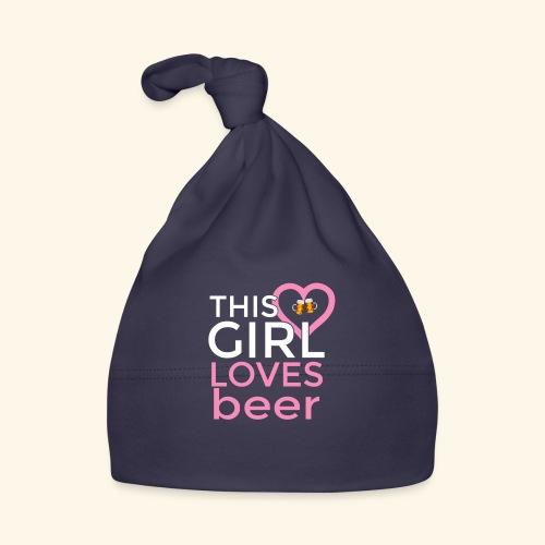 Ragazza birra - Cappellino neonato