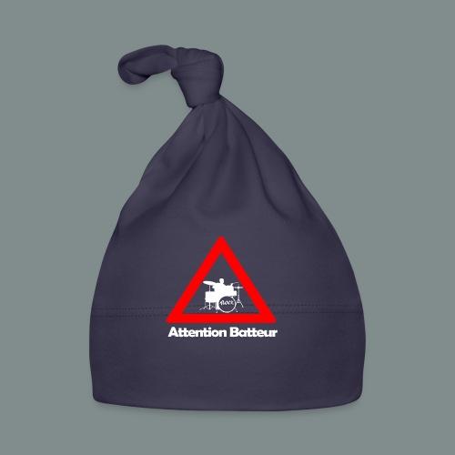 Attention batteur - cadeau batterie humour - Bonnet Bébé