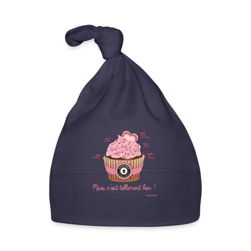cupcake rose 2 - Bonnet Bébé