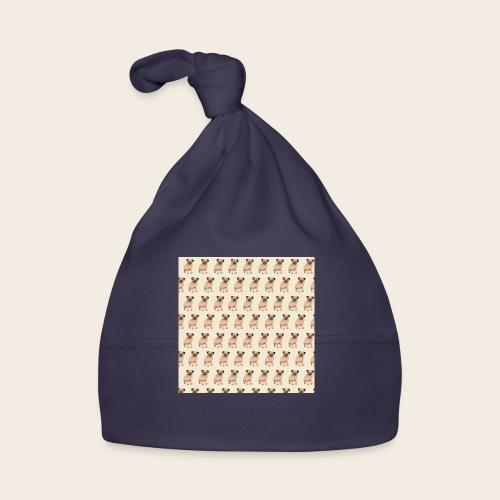 mops muster 2 - Baby Mütze