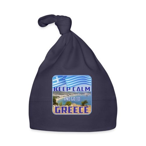 KEEP CALM and go to GREECE - Griechenland - Ellada - Baby Mütze