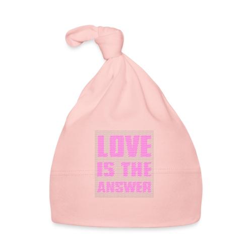 LOVE IS THE ANSWER - Cappellino neonato