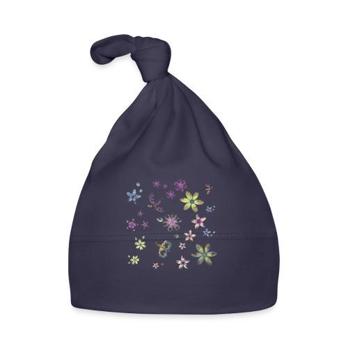flowers and butterflies - Cappellino neonato