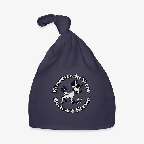 Kerwevereinslogo schwarz-weiss - Baby Mütze
