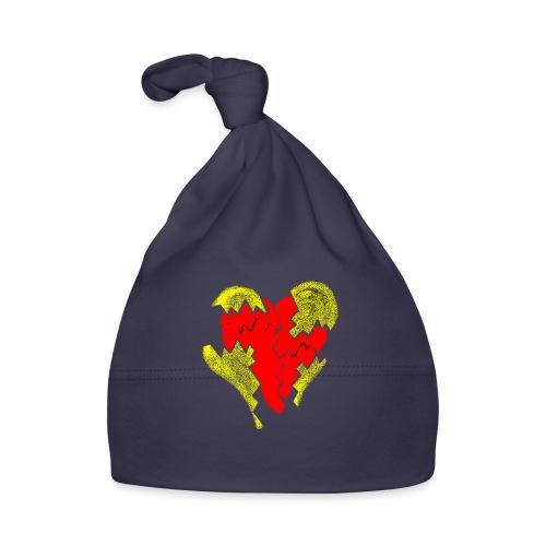 peeled heart (I saw) - Baby Cap