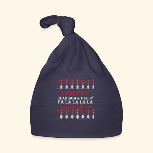 Gay Christmas sweater - Czapeczka niemowlęca