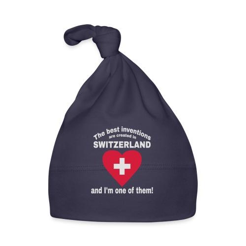 Lustiger Schweiz Spruch für echte Schweizer - Baby Mütze