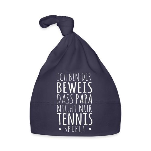 Tennis Papa Baby Beweis Vater Shirt Geschenk - Baby Mütze