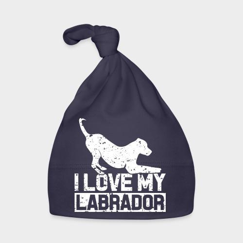 I LOVE MY LABRADOR - Baby Mütze