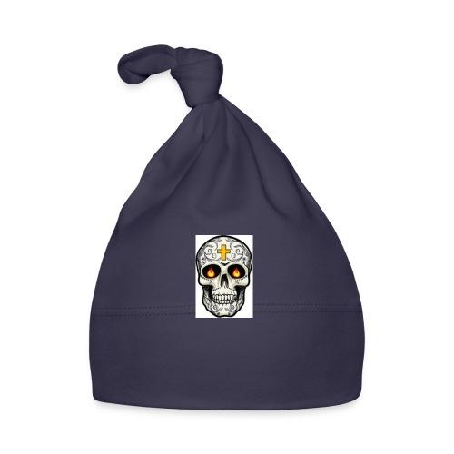 tete de mort - Bonnet Bébé