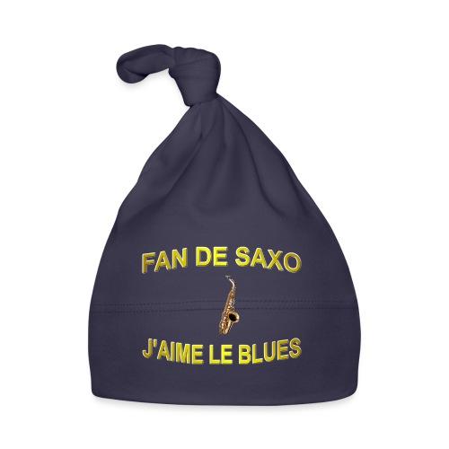Tee-Shirt pour les fans de blues, et de saxo. - Bonnet Bébé