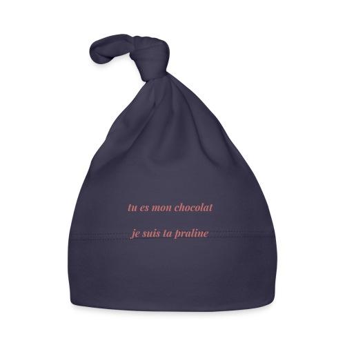 Tu es mon chocolat clair - Bonnet Bébé