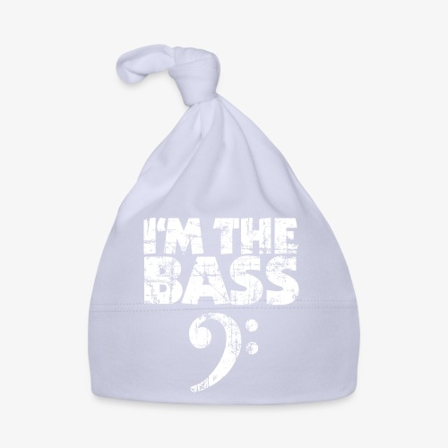 I'm the Bass Vintage White - Baby Mütze