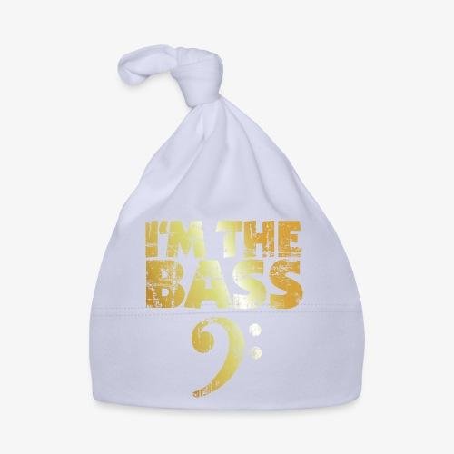I'm the Bass (Goldgelb) - Baby Mütze