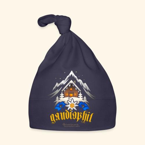 Apres Ski Sprüche Party T-Shirt Design gaudiophil - Baby Mütze