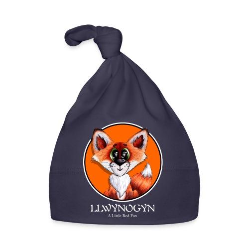 llwynogyn - a little red fox (white) - Vauvan myssy
