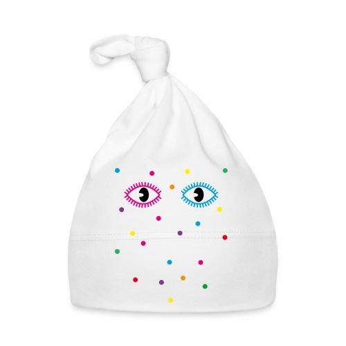01 Konfetti Augen Guckst Du Spruch - Baby Mütze