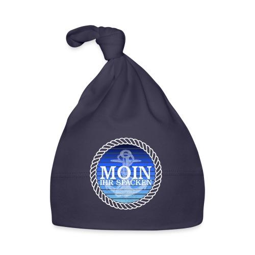 Moin ihr Spacken maritimer Retrokreis Geschenkidee - Baby Mütze