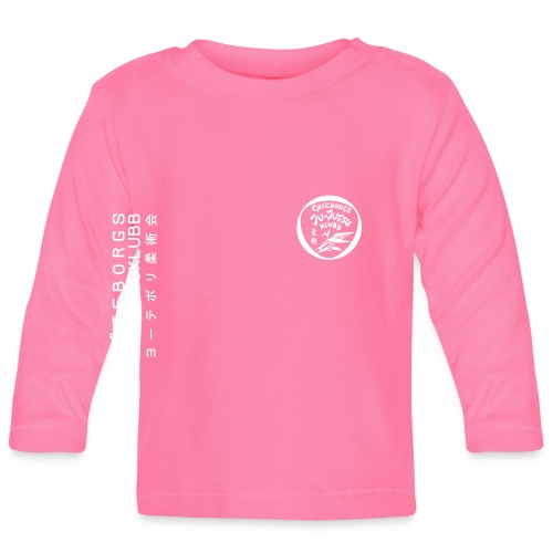 rygg centrerad tshirt hoodjacka troeja - Långärmad T-shirt baby
