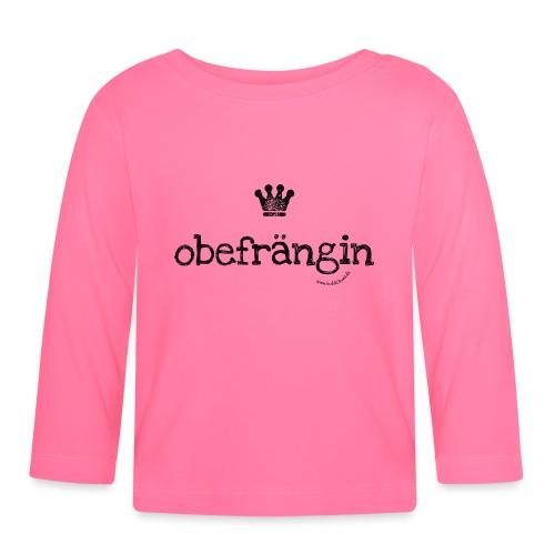 Obefrängin - Baby Langarmshirt