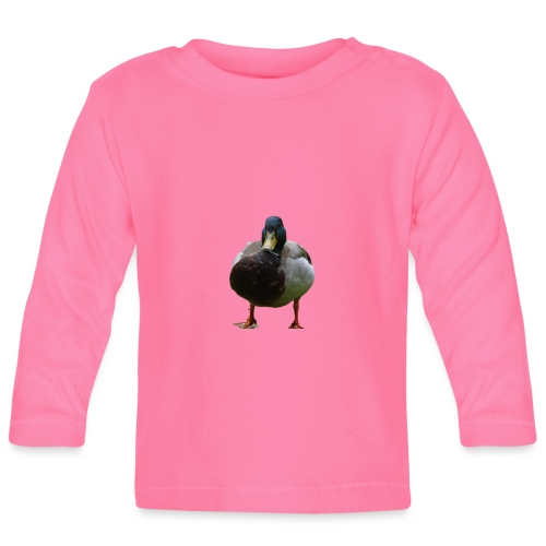 A lone duck - Baby Long Sleeve T-Shirt