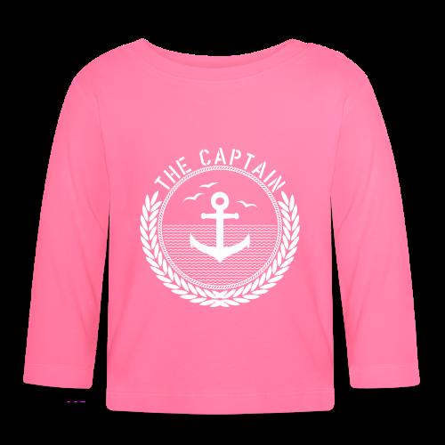 The Captain - Anchor - Baby Langarmshirt