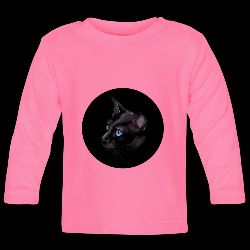 Black Cat - Baby Long Sleeve T-Shirt