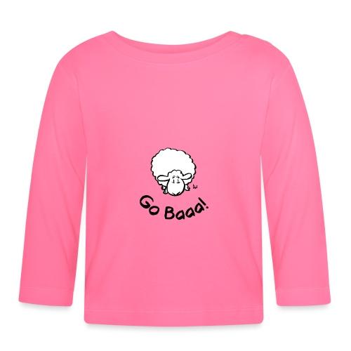 Sheep Go Baaa! - Baby Long Sleeve T-Shirt
