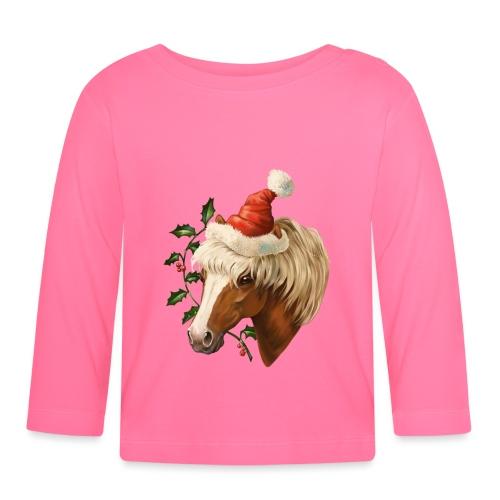 Christmas Pony - Baby Langarmshirt