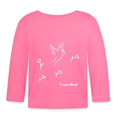 L'oiseau liberté (version light) - T-shirt manches longues Bébé