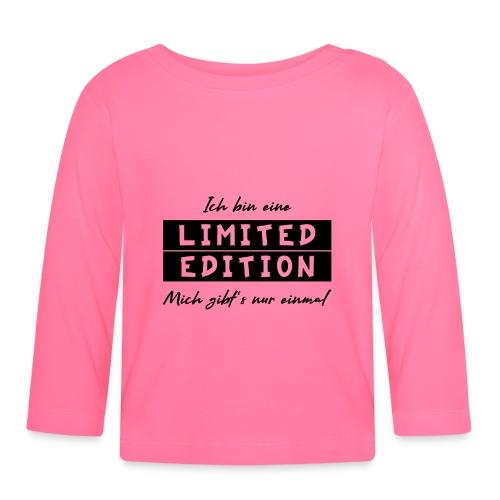 ich bin eine limit edition - Baby Langarmshirt
