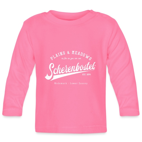 Scherenbostel Retrologo - Baby Langarmshirt